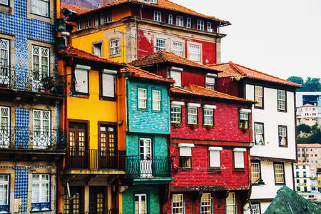 The Ribeira quarter in Porto