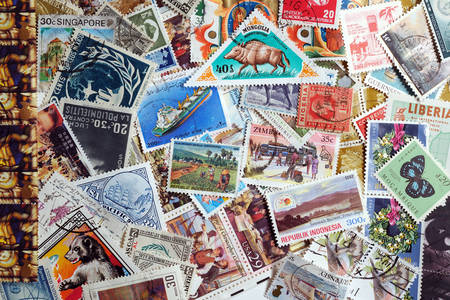 World stamps