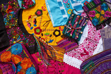 Mexican embroidery