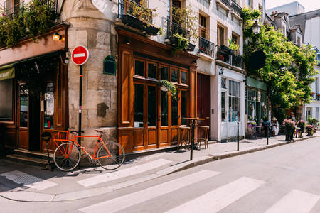 Street in Paris