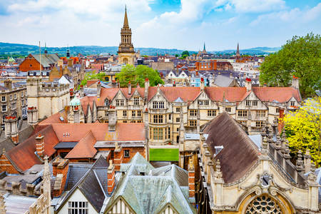 Roofs of Oxford