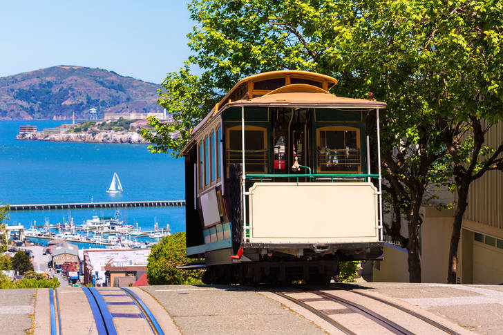 San Francisco Seilbahn