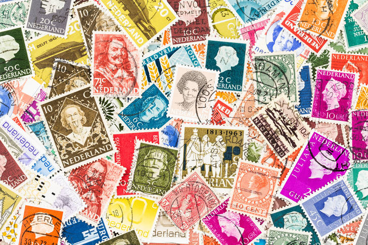 Netherlands stamp collection