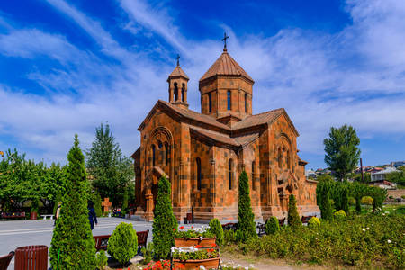 Church of St. John the Baptist in Yerevan